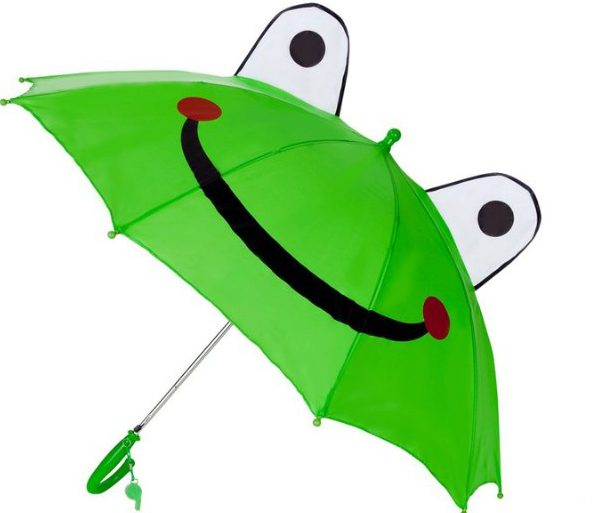 Cute Kids Sun Rain Uv Protection Frog Umbrella Hfumbrellas
