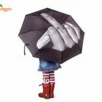 Middle Finger Fashion Umbrella 2