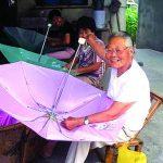 Umbrella Canopy Sewing