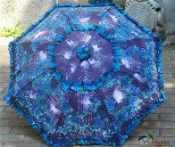 Customized Full Printing Floral Border Umbrella